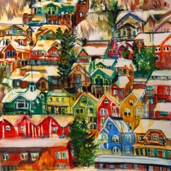 12-Painted-Houses-December